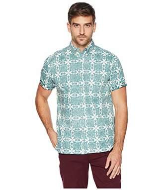Reyn Spooner Men's Christmas Quilt Classic Fit Hawaiian Shirt