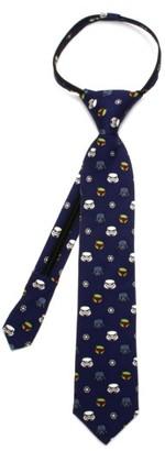 Boy's Cufflinks, Inc. Star Wars - Imperial Villains Zip Silk Tie $30 thestylecure.com