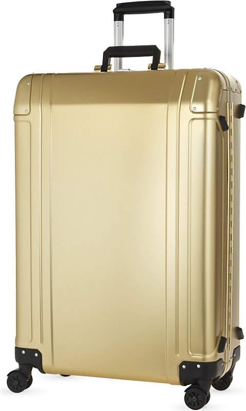 Aluminium four-wheel suitcase 73cm