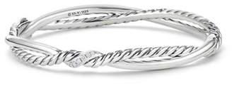 David Yurman Continuance Diamond Twist Bracelet