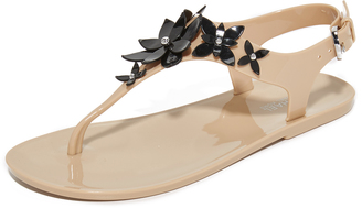 MICHAEL Michael Kors Lola Jelly Thong Sandals $69 thestylecure.com