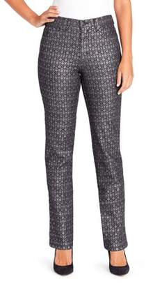 Gloria Vanderbilt Women's Amanda Havana Tiles Print Jean
