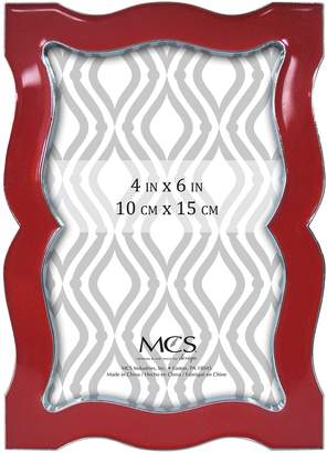 MCS Enamel and Silver Metal Frame, 4 by 6-Inch