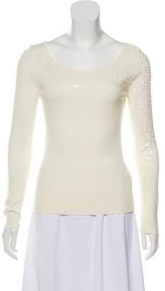 Gianfranco Ferre Embellished Long Sleeve Top