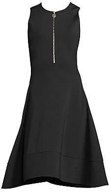Donna Karan Women's Sleeveless Fit-&-Flare Dress