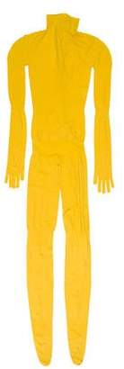 Prada Sport Long Sleeve Stretch Jumpsuit w/ Tags