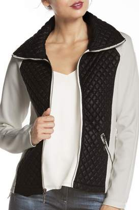 Carmen Quilted Contrast Jacket