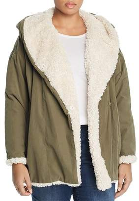 Junarose Plus Double-Breasted Parka