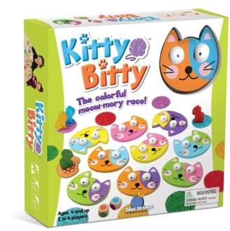Blue Orange Games Kitty Bitty Memory Game