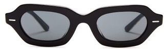The Row X Oliver Peoples L.a. Cc Sunglasses - Womens - Black