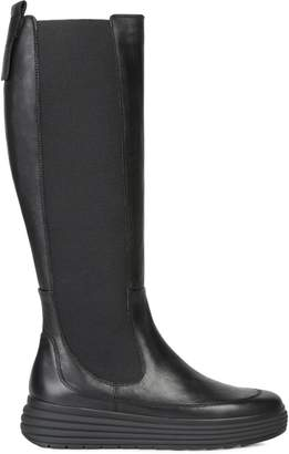 Geox Phaolae Leather Tall Boots