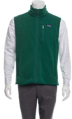 Patagonia Zip-Up Sweater Vest