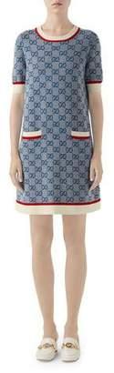Gucci Crewneck Knit Dress