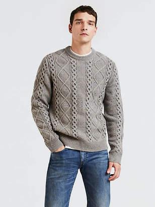 Levi's Fisherman Cable Crewneck Sweater
