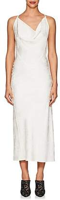 Victoria Beckham Women's Floral Jacquard Dress - Cream