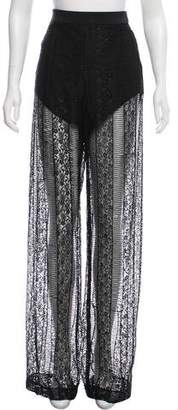 Rebecca Vallance High-Rise Wide-Leg Pants