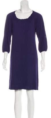 MICHAEL Michael Kors Lamb Wool-Blend Mini Sweater Dress