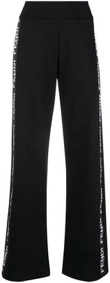 Fendi logo detail track pants