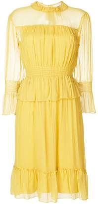 See by Chloe ruffled tea dress