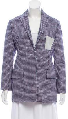 Christian Dior Fitted Jacquard Blazer