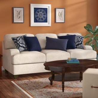 Three Posts Simmons Upholstery Hattiesburg Stone Queen Sleeper Sofa
