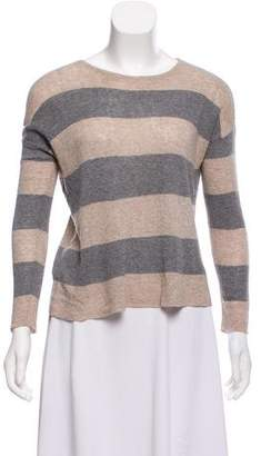 Eileen Fisher Merino Wool-Blend Striped Top