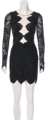 For Love & Lemons Lace Mini Dress