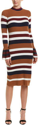 Endless Rose Bell-Sleeve Sweaterdress