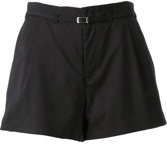 GUILD PRIME high waist pleated shorts