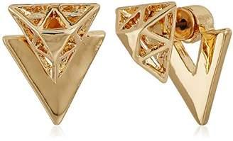 French Connection Mini Enamel Stud Earrings