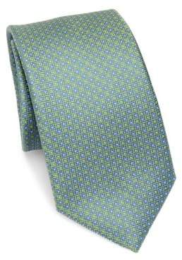 Saks Fifth Avenue COLLECTION Neat Square Silk Tie