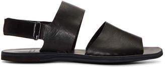 Officine Creative Black Fira 6 Sandals