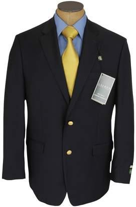 Ralph Lauren Mens 2 Button Blue Wool Blazer Sport Coat Jacket - Size 44R
