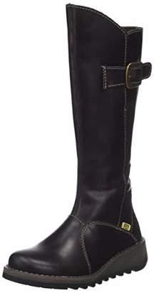 Fly London Girls' MOL 2K Chukka Boots (Black 001), 2 (34 EU)