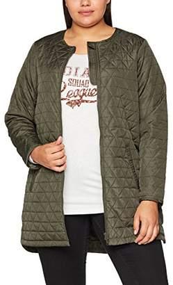 Zizzi Women's Coat Bomber Jacket,(Size: )