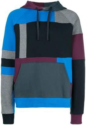 Lanvin geometric print hoodie