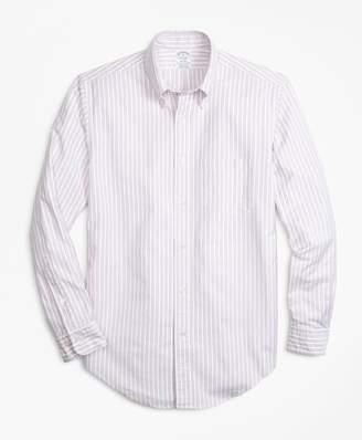 Brooks Brothers Regent Fit Oxford Outline Stripe Sport Shirt