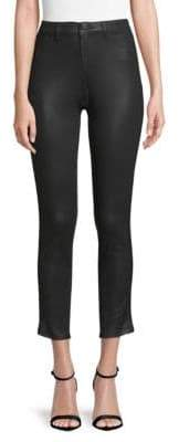 Elie Tahari Azella Braid Cropped Jeans