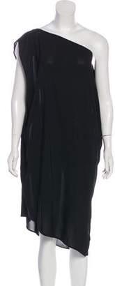 Maison Margiela One-Shoulder Knee-Length Dress
