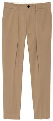 Banana Republic JAPAN EXCLUSIVE Trooper-Fit Pleated Cropped Chino