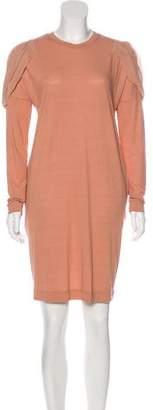 Paul Smith Long Sleeve Knee-Length Dress