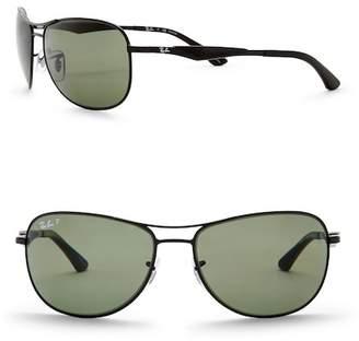 Ray-Ban Polarized Metal Sunglasses