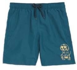 Vilebrequin Little Boy's& Boy's Sunny Dog Swimshorts