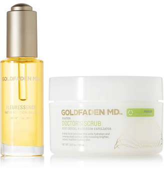 Goldfaden Advanced Hydrating & Brightening Set, 30ml And 50ml - Colorless