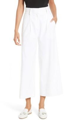 Women's Diane Von Furstenberg Linen Blend Culottes $368 thestylecure.com