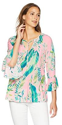 Lilly Pulitzer Women's Willa Flounce Sleeve Top