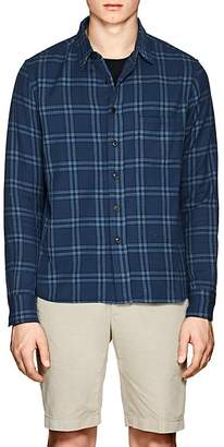 Simon Miller Men's Thayne Plaid Cotton Shirt
