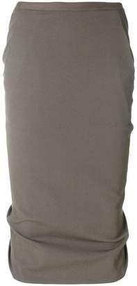Rick Owens Pillar pencil skirt