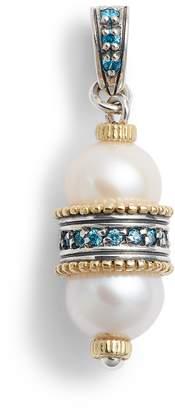 Konstantino Thalia Double Pearl Pendant