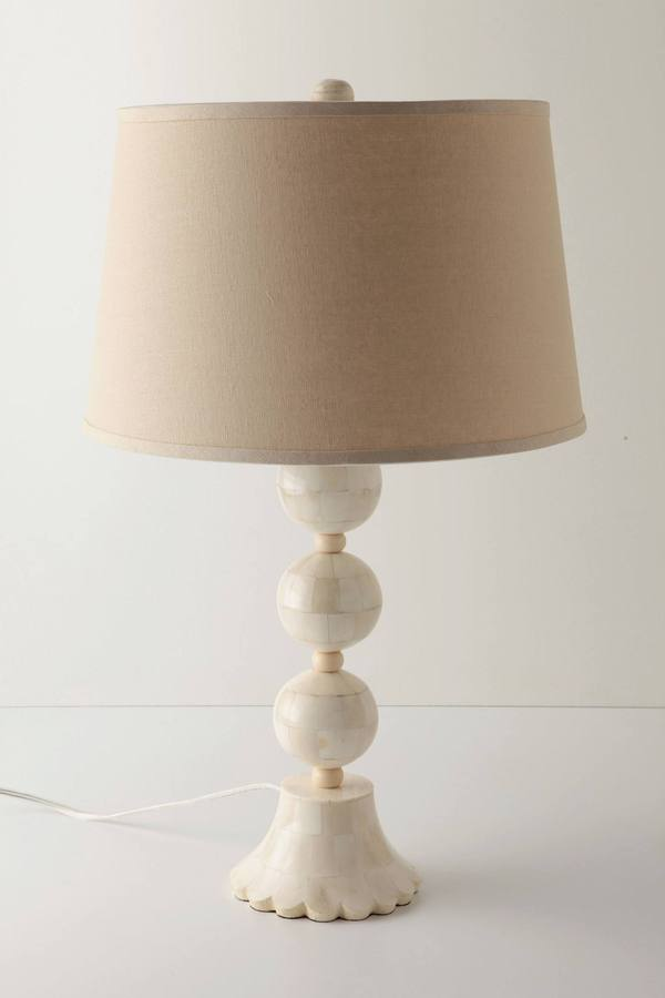 Anthropologie String-Of-Pearls Lamp Base
